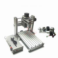 5 axis mini DIY cnc milling machine 3040 metal 400 spindle with free cutter clamp drilling collet