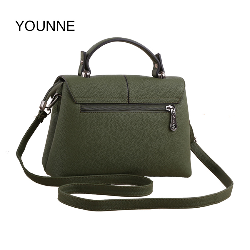 цена на YOUNNE 2017 New Women Handbags Fashion Korean Version Flap Trend Woman Messenger Bag Solid Color Retro Shoulder Bag