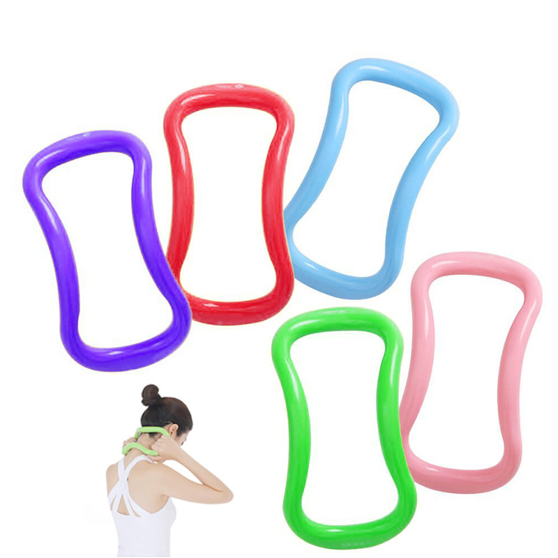 Yoga Circle Stretch Ring Fascia Massage Workout Pilates Ring Bodybuilding Fitness Stretch Gym Equipment Yoga Accessories