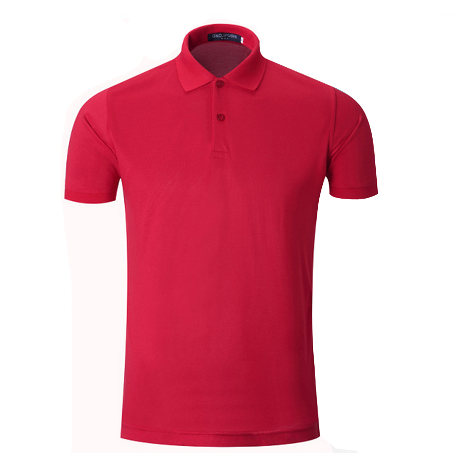 New   Polo   Shirt Men Slim Fit Turn Down Collar Summer Casual Mens   Polos   Short Sleeve S-3XL Solid Blue White Red Purple Red Green