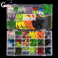 301pcs Fishing Lure Set Mixed Soft Lures Minnow Spoon Lure Fish Lure Kit Lead Jig Hooks Isca Artificial Bait Fishing Gear Pesca