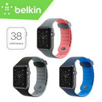 38mm Belkin Original Sport Light Flexible Breathable Silicone Hand Washable Strap Band For Apple Watch With