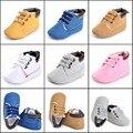 TongYuanYou Deportes de Invierno Bebé de La Manera de las Zapatillas de deporte de Cuero Niños Botas Recién Nacido Bebe Niños Botines Infantiles Antideslizantes Primeros Caminante
