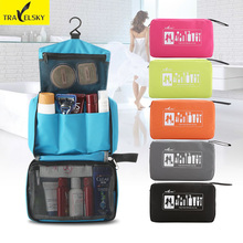 Фотография Traveling wash bag Cosmetic Waterproof Portable  travel bag men and women large-capacity storage Free shipping