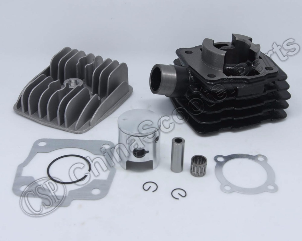 39.5mm 50 50CC Bore Cylinder Piston Gasket Head Kit For KTM SX Mini Adventure Senior laidong km4l23bt for tractor like luzhong series set of piston groups with gaskets kit including the cylinder head gasket