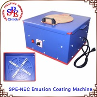 SPE NEC Emulsion Coating Machine Pad Printiing