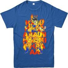 goku Kami kami haa T-shirt,dragon ball Z inspired design gift top,goku spoof Free shipping Harajuku Tops Fashion Classic Unique цена