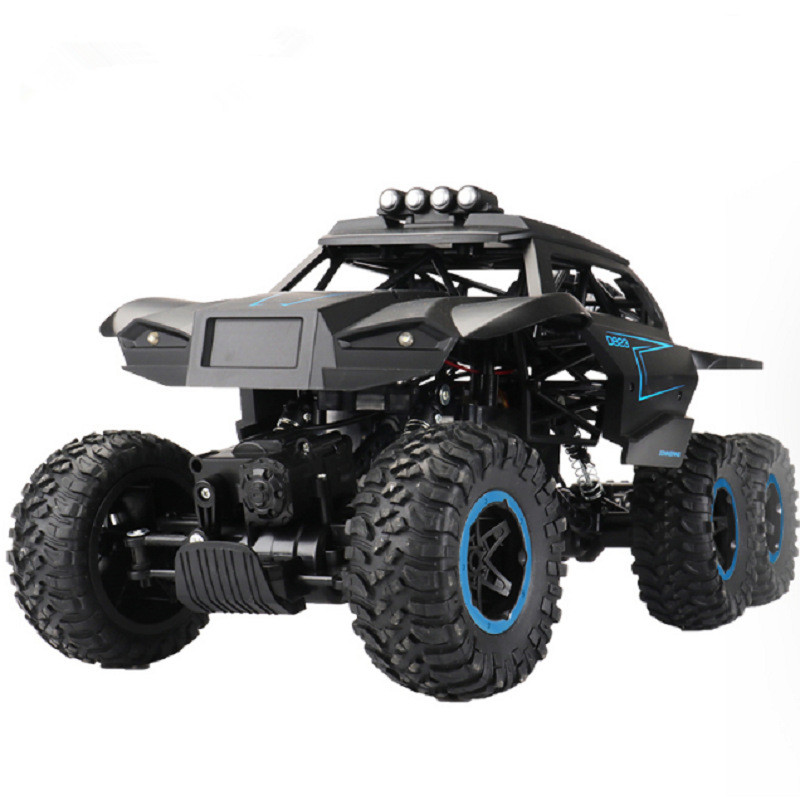 2.4GHz 6WD Off-Road Model Car Remote Control Car High Simulation Anti-Collision High and Low Speed one-key conversion RC  Car2.4GHz 6WD Off-Road Model Car Remote Control Car High Simulation Anti-Collision High and Low Speed one-key conversion RC  Car