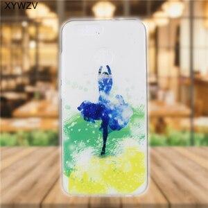 Image 5 - sFor Huawei Nova 2 Case Cover Soft Silicone Pattern Phone Case For Huawei Nova 2 Back Cover For Huawei Nova2 Case Coque Fundas <