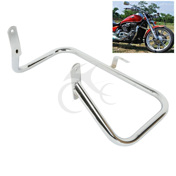 Engine Guard Highway Crash Bar For Honda Shadow ACE VT 400 750 1997-2003 02 01 98 99 00 запчасти для мотоциклов honda shadow vt400 750 98 99 00 01 02 03