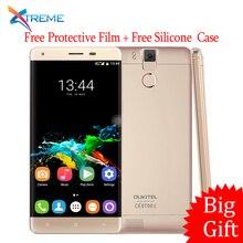 In Stock Original Oukitel K6000 Pro 4G LTE Mobile Phone Octa Core 5.5″ 1920×1080 3GB RAM 32GB ROM 13.0MP Fingerprint 6000mAh