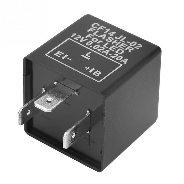 US $2.39 27% OFF CF14 JL 02 3 Pin LED Flasher Flash Relay for Turn on