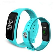 C1S Blood Pressure Oxygen Heart Rate Monitor Blutooth Smart Wristband Bracelet For IOS Android