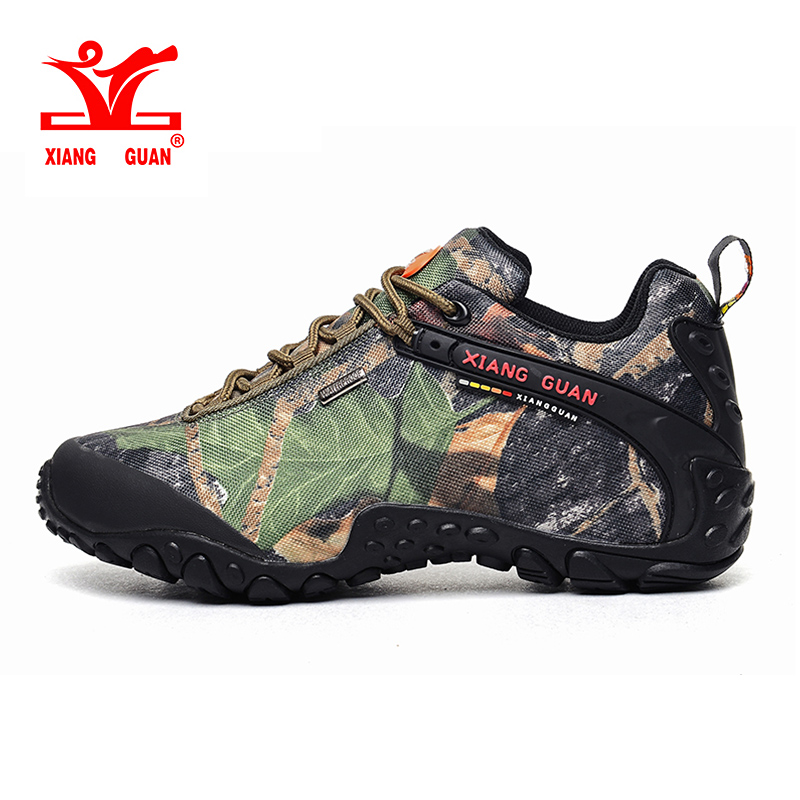 XIANG GUAN Outdoor Sneakers High Quality Man Martin Hiking Shoes Travel Desert Tactical black green boots low eur 36-48 yin qi shi man winter outdoor shoes hiking camping trip high top hiking boots cow leather durable female plush warm outdoor boot