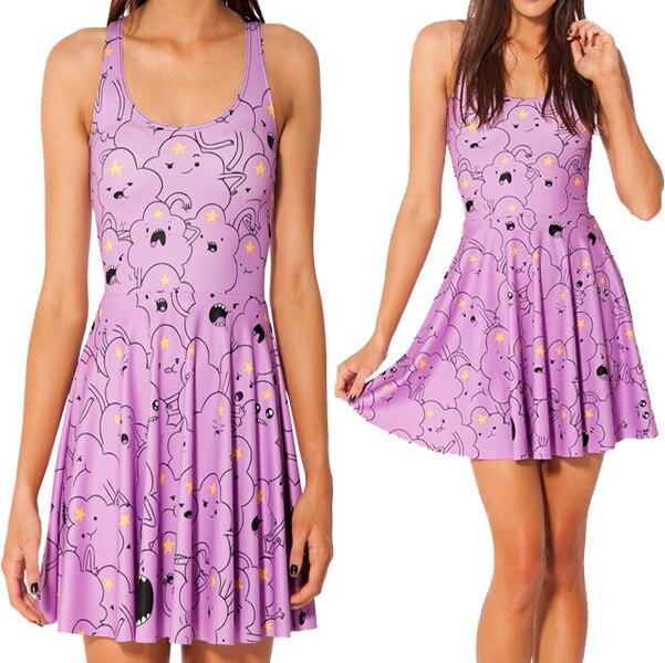 Online Get Cheap Purple Summer Dresses -Aliexpress.com ...