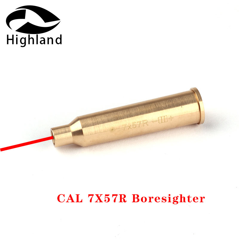 Caccia CAL 7X57R Boresighter Avvistamento Materiale In Ottone Cartuccia Laser Rosso Bore Sighter per Colpo di pistola AccessoriCaccia CAL 7X57R Boresighter Avvistamento Materiale In Ottone Cartuccia Laser Rosso Bore Sighter per Colpo di pistola Accessori