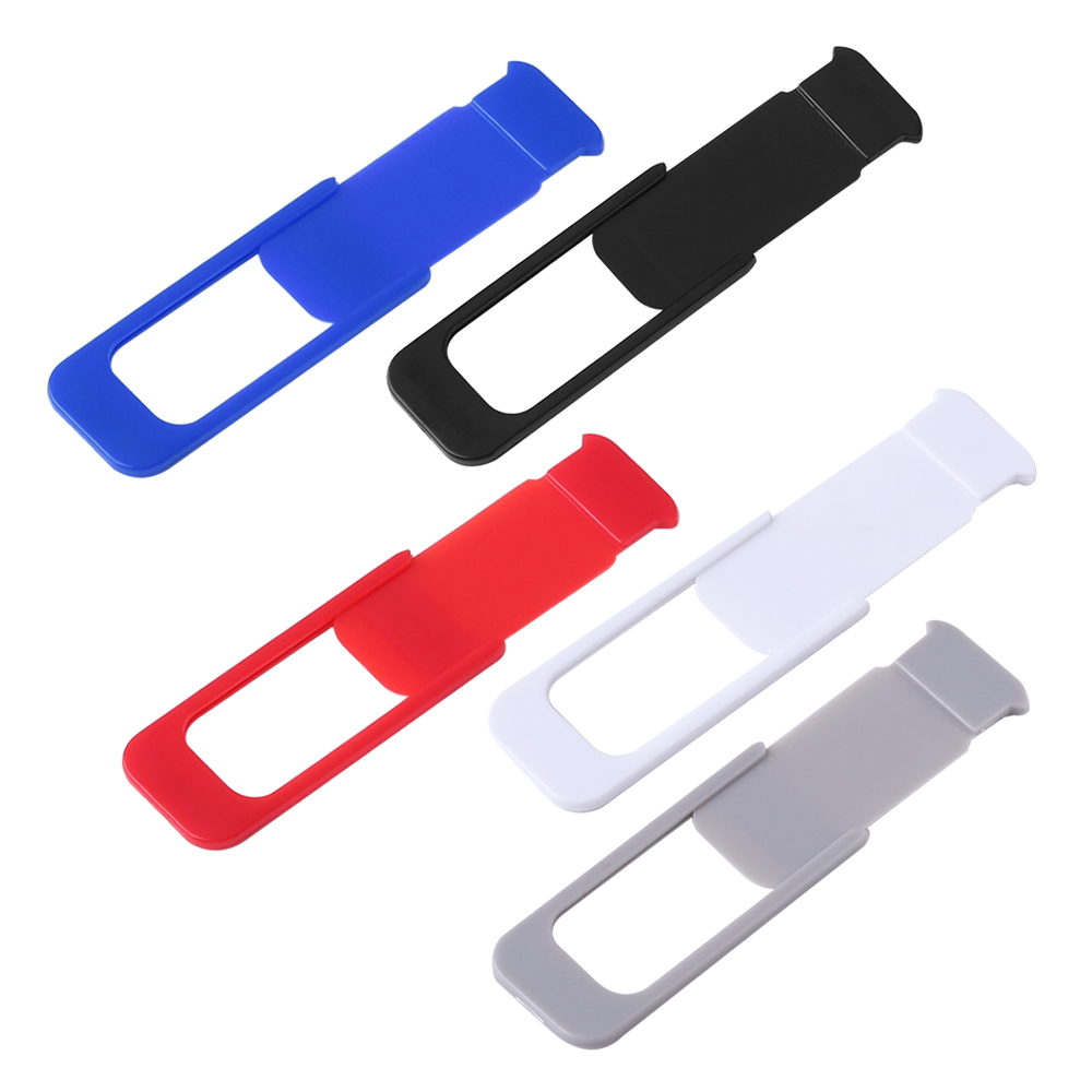 New 3pcs WebCam Cover Shutter Ultra-Thin Universal Slider Plastic Camera Cover Lens Privacy Sticker For Phone Laptop iPad Mac