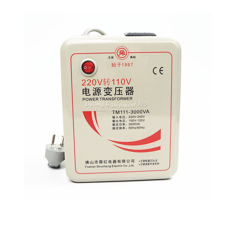 3000W 220V to 110V Voltage Converter Transformer