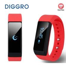 Diggro i5 плюс SmartBand здоровья Sleep Monitor SmartBand OLED Шагомер фитнес-трекер Smart Bluetooth браслет для iOS и Android