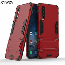 For Huawei P30 Case Shockproof Non-slip Armor Rubber Hard PC Phone Case For Huawei P30 Back Cover For Huawei P30 Fundas Cover * for huawei p30 lite case shockproof case armor rubber hard pc phone case for huawei p30 lite back cover huawei nova 4e fundas