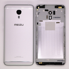 Original Metal Back Shell Housing Door Battery Cover Case For MEIZU M3 NOTE With Camera Glass Lens