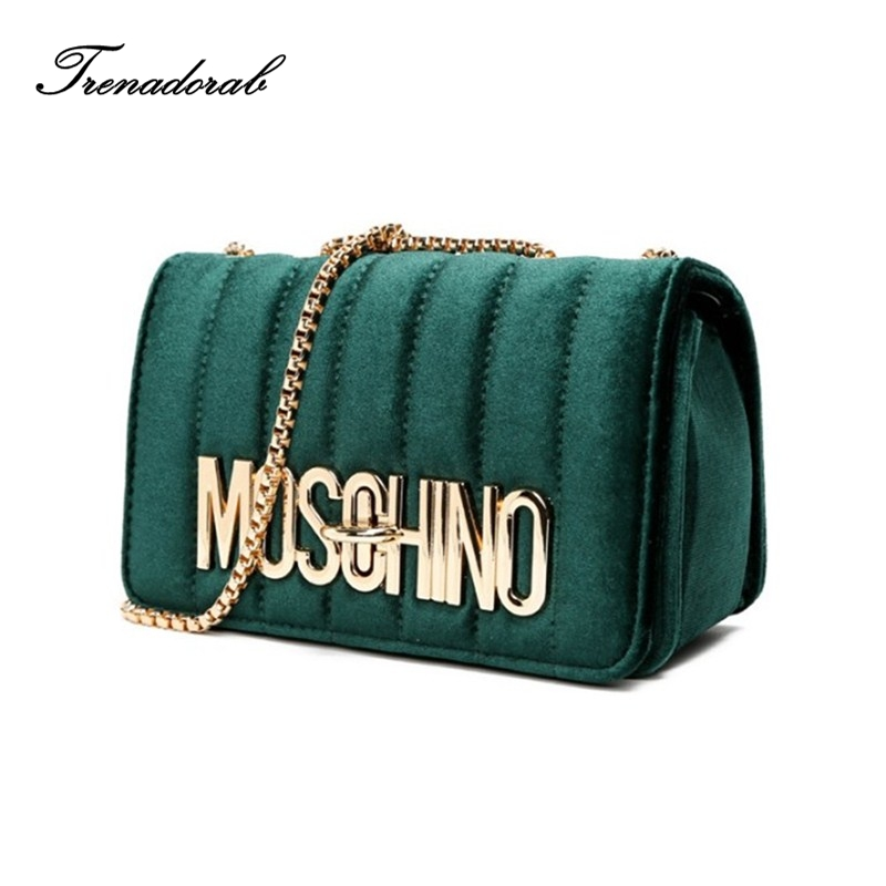 velvet bag woman 2017 handbags ladies famous brands famous female shoulder high quality chain crossbody bags sac a main tote 2016 hot sale high quality famous brand handbags crossbody bag ladies shoulder bag purse a total of 3pieces