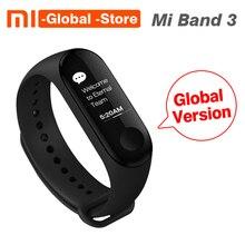 [Глобальная версия] Оригинальный Xiao mi band 3 mi band 3 пульсометр фитнес-трекер 0,78 »OLED дисплей для Android IOS