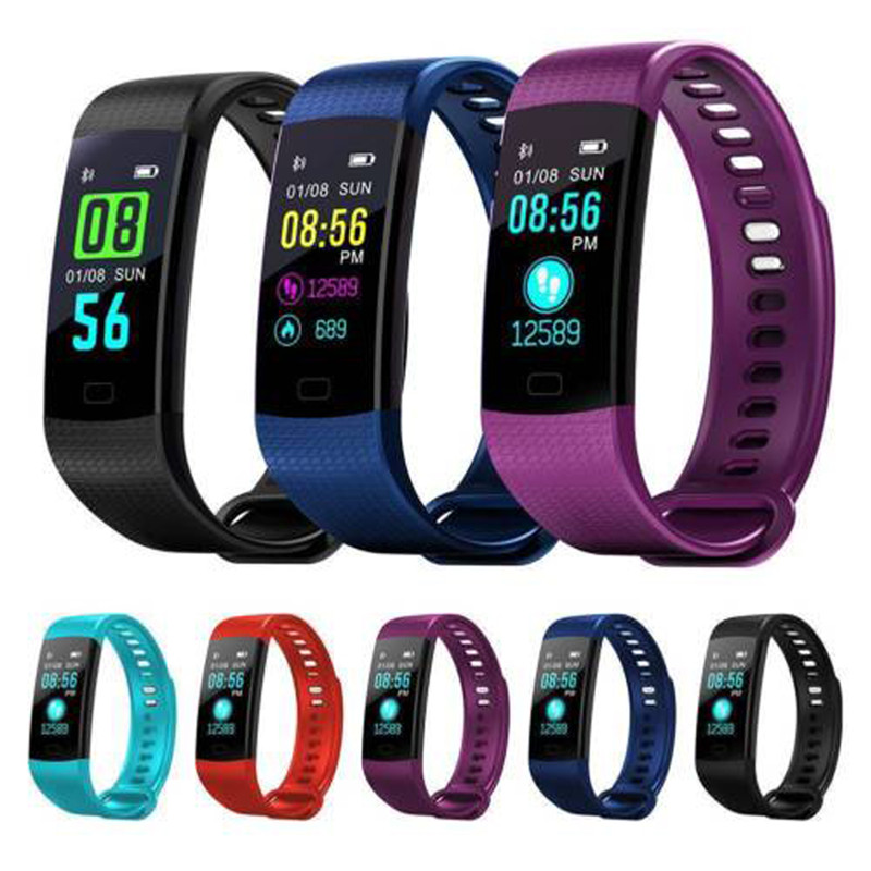 Fashion Bluetooth Smart Wrist Watches Heart Rate Blood Pressure Fitness Tracker Bracelet Watches For SportsFashion Bluetooth Smart Wrist Watches Heart Rate Blood Pressure Fitness Tracker Bracelet Watches For Sports