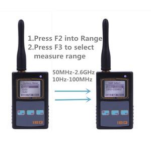 Image 5 - IBQ102 Handheld Digital Frequenzzähler Meter Breite Palette 10Hz 2,6 GHz für Baofeng Yaesu Kenwood Radio Tragbare Frequenz Meter