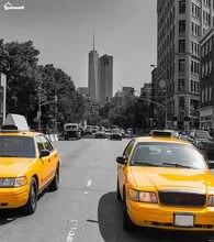 Decke Karierten Wrme Weichen Plsch Pflegeleicht Maschine Waschen Gelb Auf Der Taxis Von New York Plaids Dem Sofa Werfen Ki
