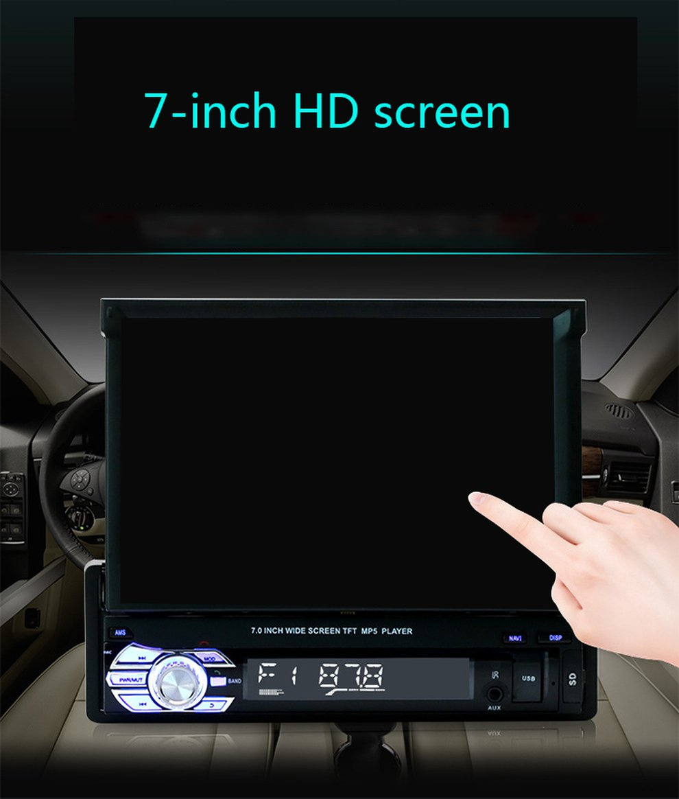 9601 Universal 2 Din Car MP5 Player Video Player Stretchable Screen Auto Audio Stereo Multimedia FM/MP5/USB/AUX/9601 Universal 2 Din Car MP5 Player Video Player Stretchable Screen Auto Audio Stereo Multimedia FM/MP5/USB/AUX/