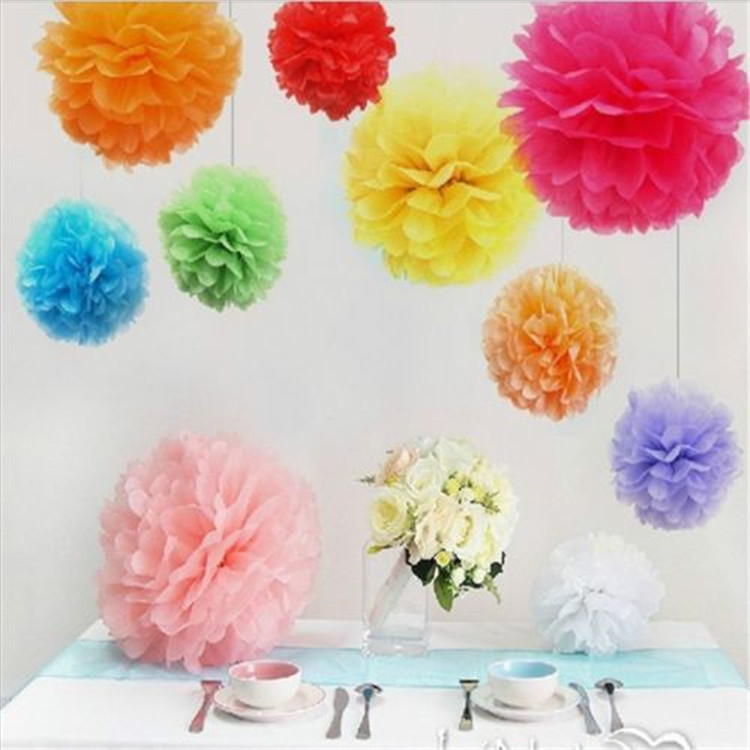 Free shipping 50pcslot 10 25cm rice paper flowers rose ball diy free shipping 50pcslot 10 25cm rice paper flowers rose ball diy pompom for wedding party decorations 24 colors on aliexpress alibaba group mightylinksfo