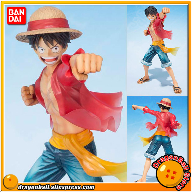 Japan Anime ONE PIECE 100% Original BANDAI Tamashii Nations Figuarts Zero Figure - Monkey D. Luffy (5th Anniversary Edition) japanese anime original bandai figuarts zero one piece 5th anniversary edition monkey d luffy