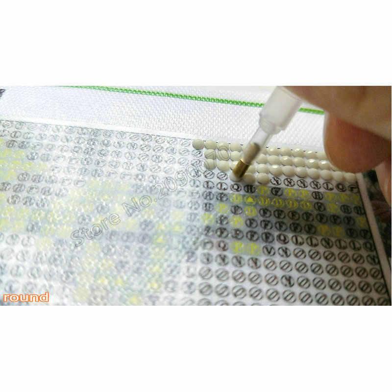 Bricolage complet 5D diamant peinture point de croix Madonna carré diamant broderie modèles strass à la main mosaïque autocollants
