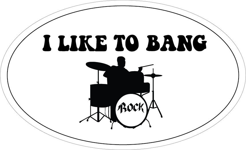 Fashion Summer Paried T Shirts Short Printing I Like To Bang Drums Band Music Novelty Rock Themed Mens Shirt in T Shirts from Men 39 s Clothing