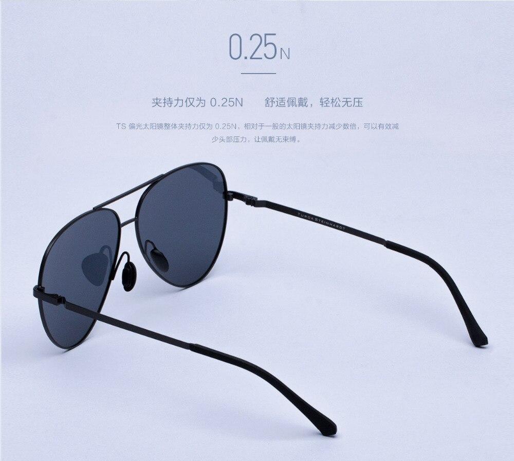 Xiaomi Mijia Turok Steinhardt TS Driver SunglassesTS Nylon Polarized Stainless SunGlass UV400 for Travel Driving unisex H20 (12)