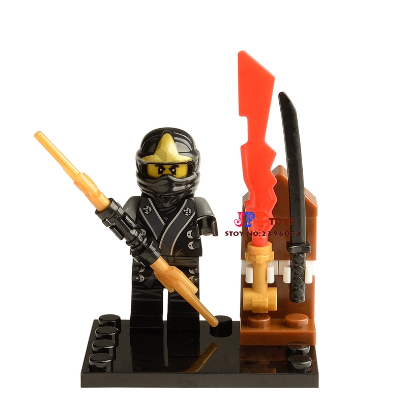 Single Sale star wars superhero marvel Ninja Zane building blocks model bricks toys for children brinquedos menino