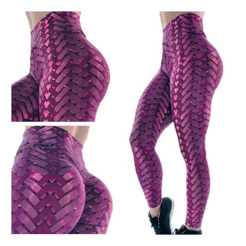2019 3D push up   legging   high waist sporting fashion Women Metal Tire Printed Skinny Stretch Fitness Gym Slim   Leggings   Pants