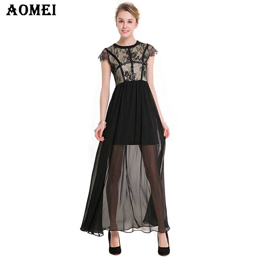 Fast Deliver 2019 New Fashion Womens Dresses Spring Dress French Retro Long Vestidos Fast Color Dresses