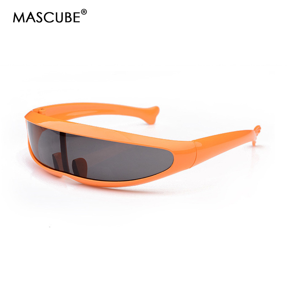 MASCUBE Men Women Kids Sunglasses X Men Personality Laser Glasses Cool Robots Sun Glasses Driving Sunglass Goggles in Men 39 s Sunglasses from Apparel Accessories