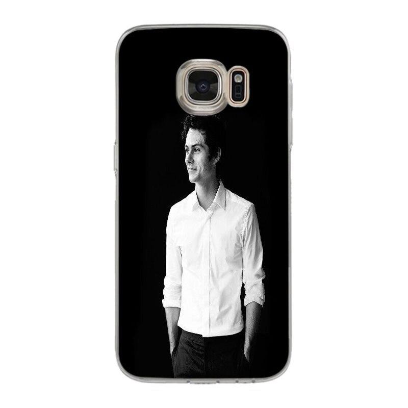 119 50 De Descuentoyinuoda Dylan Obrien Teen Wolf Adorable De Dibujo De Color De La Caja Del Teléfono Para Samsung Galaxy S7 S6 Edge Plus S5 S9