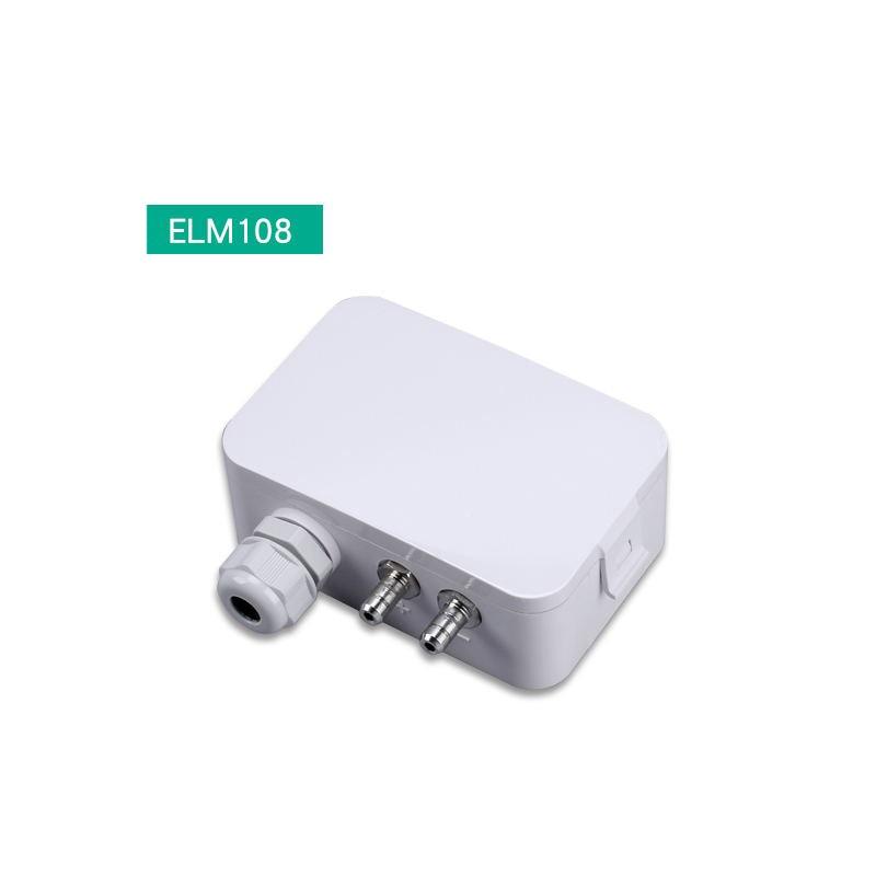 ELECALL ELM108 micro transmetteur de pression différentielle capteur de pression transmetteur de pression d'air 0-5000pa 0-10V