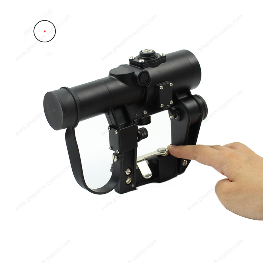 PHANTOM Optics Recoil Resistant Svd Red dot scope SVD 1x 24 Scope aim top svd gbb