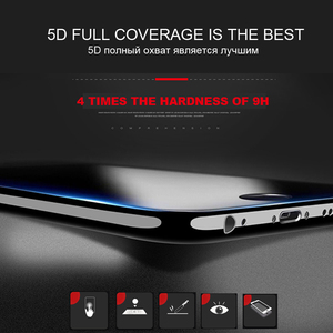 Image 5 - 5D Protective glass for iPhone 7 6 6s 8 Plus Tempered glass for iPhone 11 Pro Xr X Xs Max Screen Protector for iPhone SE 2 glass