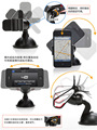 Balck Universal Car Windshield Mount Holder phone car holder For iPhone 5S 5C 5G 4S MP3 iPod GPS Samsung