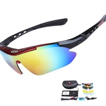 5 Lens Polarized Cycling Eyewear UV400 Outdoor Sports Bicycle Sunglasse