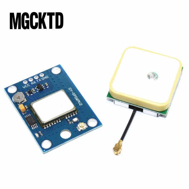 NEO-6M GPS Module with Flight Control EEPROM MWC APM2.5 large antenna