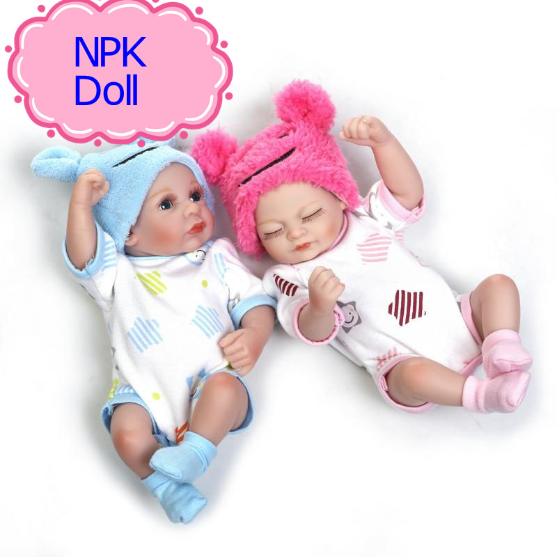 Npk 10 Inch Hot Sale Whole Silicone Vinyl Baby Doll Low