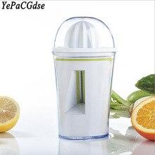 Multifunctional 2-in-1 Kitchen Accessories Spiral / Juicer Peeler, Handheld Lemon Citrus Potato Crusher Peeler Tool