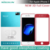 3D Full Cover Tempered Glass Film For Iphone 7 NILLKIN 3D CP MAX Full Coverage Anti